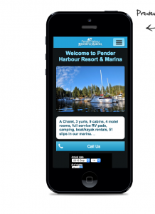 Pender Harbour Resort and Marina Mobile Only