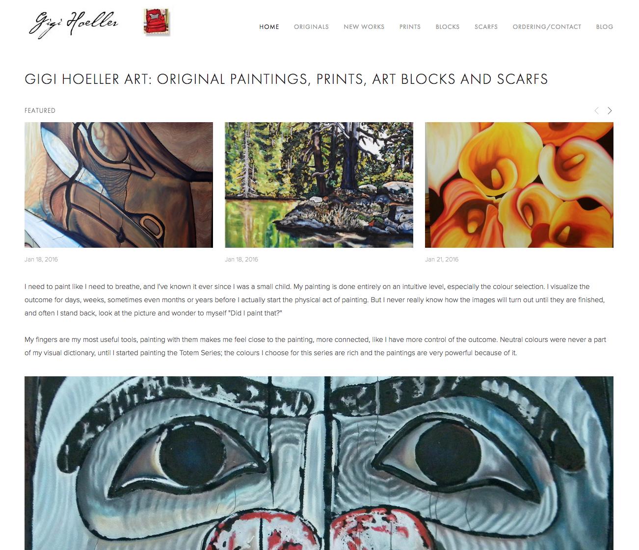 Gigi Butterfly/Hoeller web site